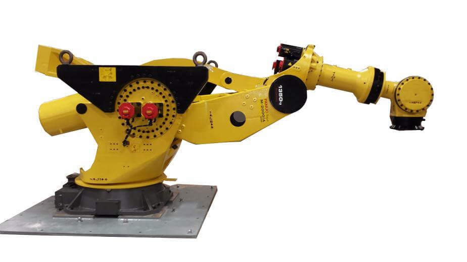 Roboti serije Fanuc M-2000 primjer su vrsta robotskih uređaja sposobnih za vrlo zahtjevne industrijske funkcije koje održavaju tijek proizvodnog procesa i sprječavaju slučajne ljudske ozljede.