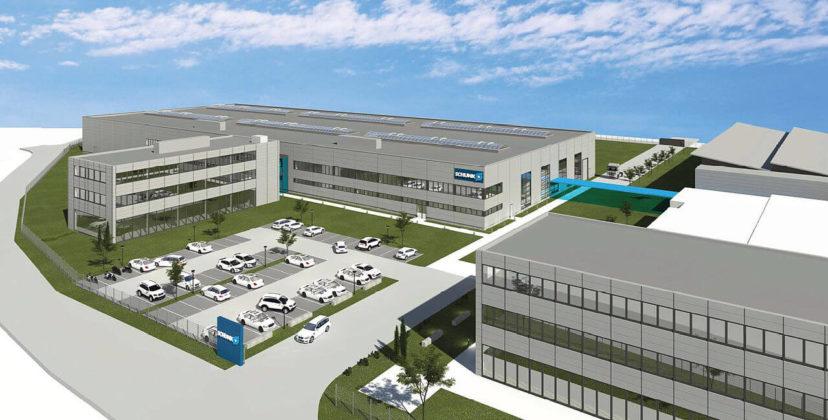 Do svibnja 2020. u kampusu SCHUNK u Mengenu bit će uloženo gotovo 30 milijuna eura. Uz još jednu proizvodnu halu, gradi se i moderni istraživačko-razvojni centar.