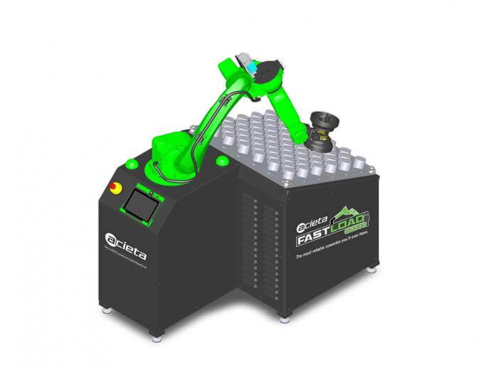 ACIETA je lansirala FastLOAD CR2000 standardnu ćeliju za alatne strojevi dizajniranu sa svim komponentama potpuno integriranim za brzu isporuku i pokretanje uz nisku cijenu.