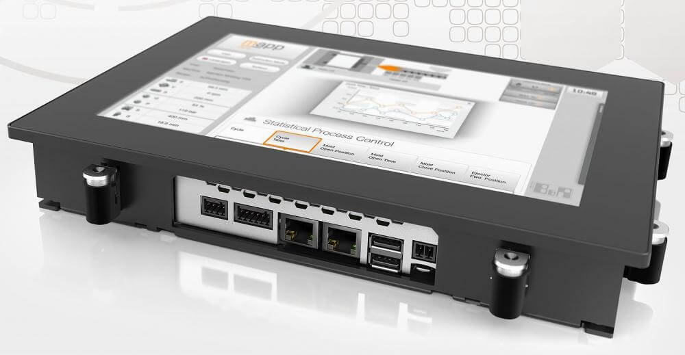 Power Panel C50 tvrtke B&R INDUSTRIAL AUTOMATION kombinira snažan kontroler i moderni projicirani kapacitivni zaslon osjetljiv na dodir u jednom HMI uređaju.