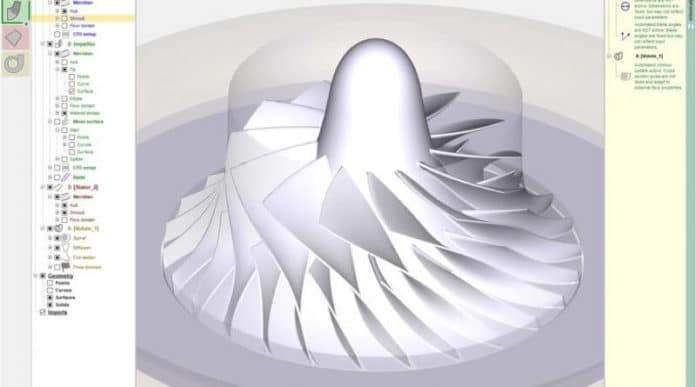 Integriranje rješenja za projektiranje turbostrojeva s Hypermill