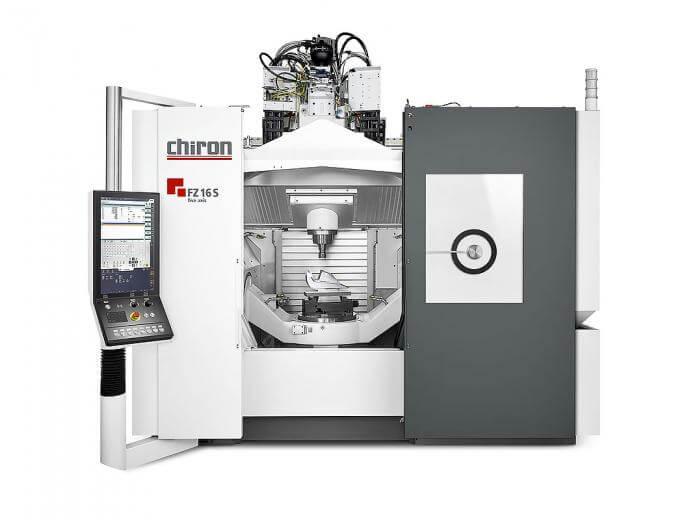 Chiron FZ 16 S five axis machinig center