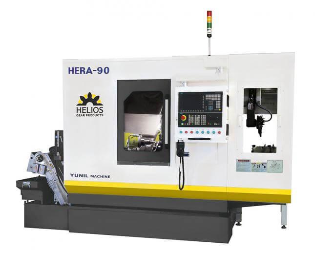 Helios Hera 90 CNC gear hobbing machine