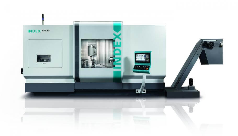 INDEX launched its G420 turn-mill cnc machining center