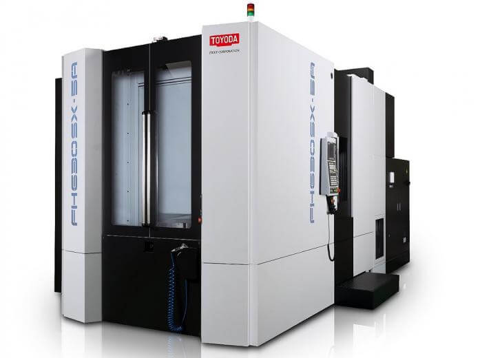 Toyoda introduced the FH630SX-i five-axis horizontal machining center that combines best-in-class performance, high torque, and simultaneous five-axis machining.