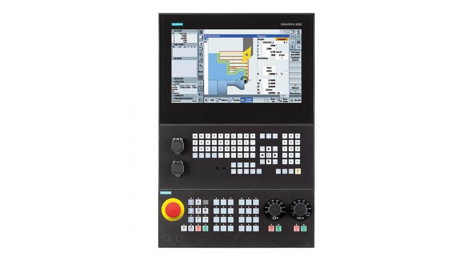 Sinumerik 828D je kompaktan, na ploči baziran CNC kontroler, koji se nudi u vertikalnim i horizontalnim modelima za fleksibilnu integraciju dizajna stroja.