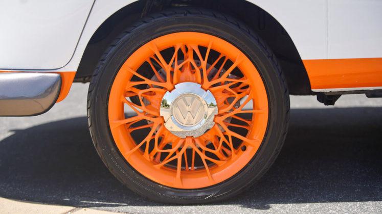 Generativni dizajn je također korišten na Volkswagen kombi felgama i gumama