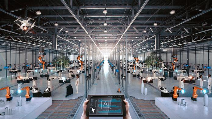3D printer velikih razmjera koristi unutarnji robot za preciznost