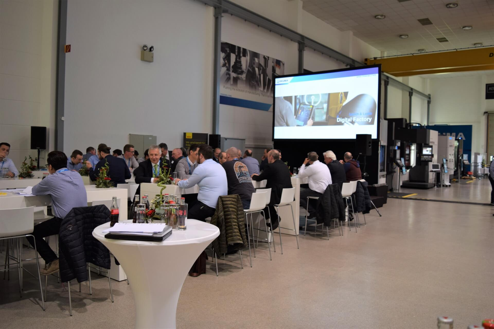 Okuma and Sandvik Coromant present digital factory solutions