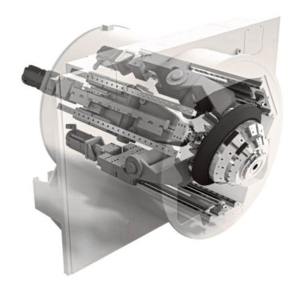 Sprint Z3 paralelna kinematička glava za obradu.