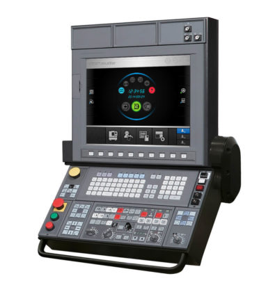 The Okuma control OSP-P300A facilitates manufacturing and allows for fully digitalized processes.