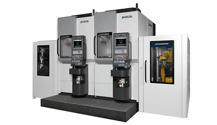 Okuma 5-axis machining center + STANDROID