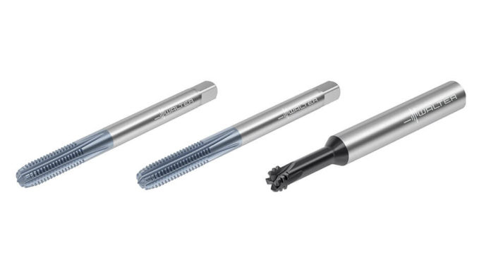 Walter's range of threading tools for hard machining