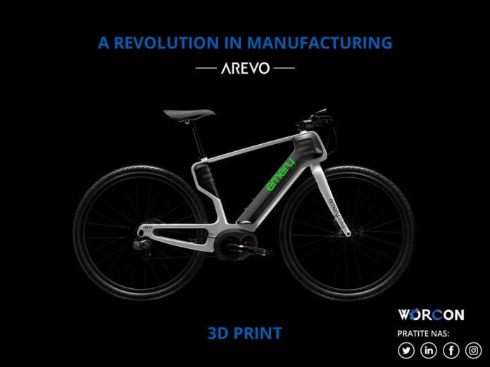 Arevo - prvi svjetski 3D printani okvir bicikla od ugljičnih vlakana