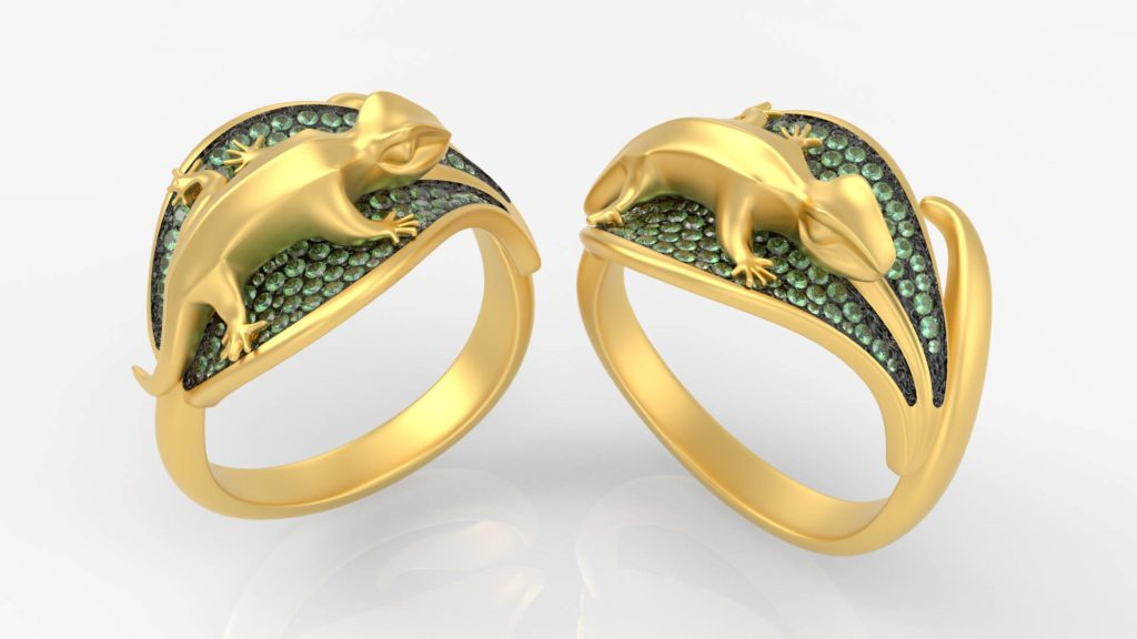 """The """"Geko Ring Collection,"""""""