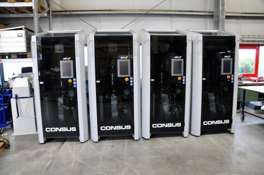 Lower emissions with the ConSus system