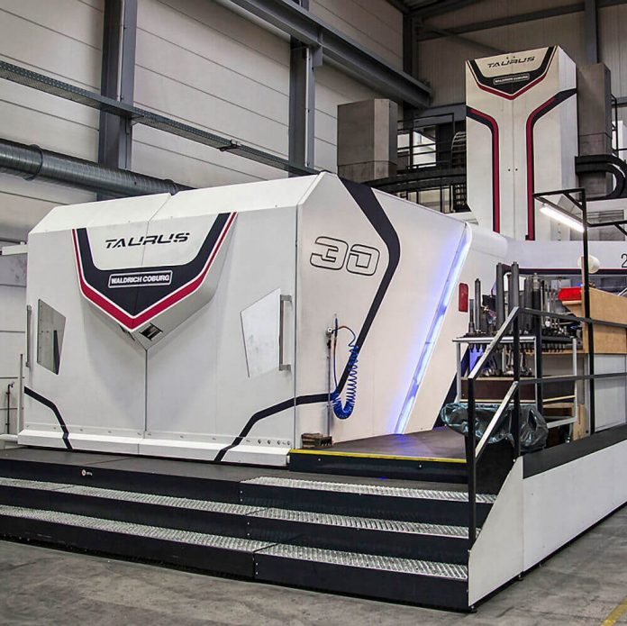 New Taurus machining centre