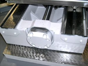 Okuma grinders possess hand-scraped sliding surfaces that help to achieve extreme precision and longevity.