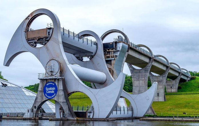 Tuesday's marvels of engineering: The Falkirk Wheel