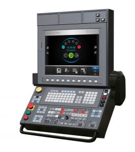 The Okuma OSP-P300GA control was specifically devopled for CNC grinders and allows for ergonomic as well as efficient operations.