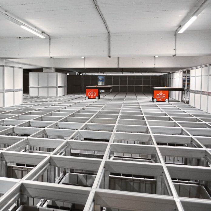 Increased delivery capacity thanks to automated storage system