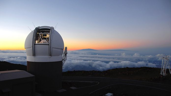 Pan STARRS system, located in Haleakala in Hawaii, is the world's largest and most powerful digital cameras
