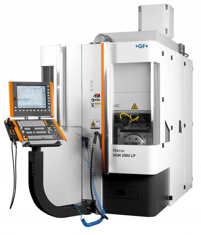 GF Machining Solutions' Mikron HSM 200U LP