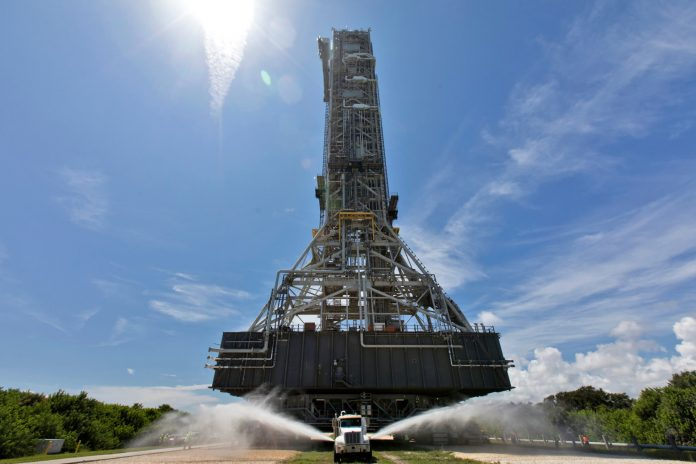 Tuesday's marvels of engineering: Launch Pad 39B