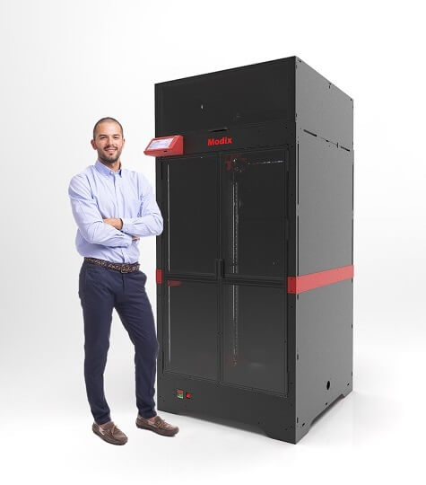 Modix launches 3D printer able to print parts up to 1.2 metres tall