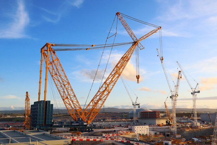 The largest crane in the world, the SGC-250