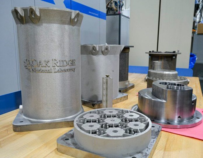 Tuesday's marvels of engineering: 3D printed nuclear reactor core