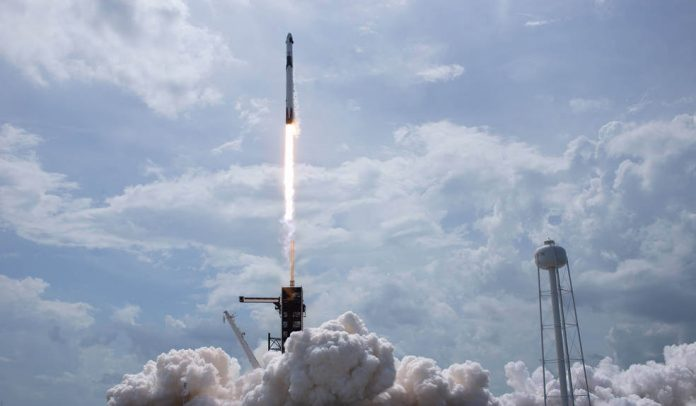 Tuesday's marvels of engineering: Nasa SpaceX launch