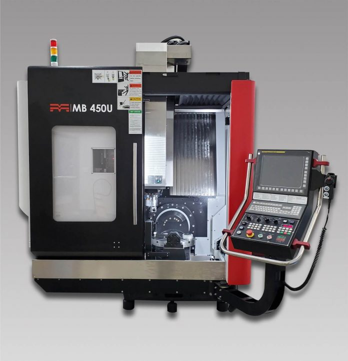 Methods MB 450U Performs Simultaneous Five-Axis Machining