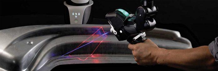Laserski skener skenira 1,2 milijuna točaka po sekundi