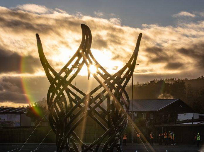 """Inženjerska čuda utorkom: postavljena """"najveća"""" 3D printana skulptura na Novom Zelandu"""
