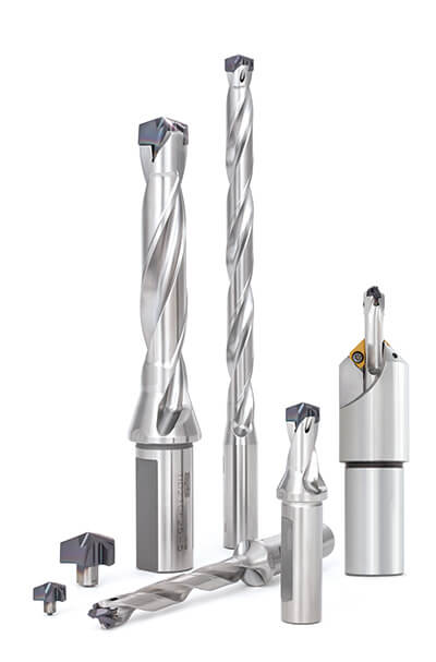 Tungaloy's DMH Drill Head Resists Fracture Damage