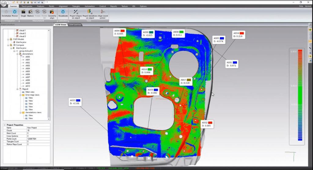 Automatizirana 3D kontrola kvalitete u proizvodnim pogonima