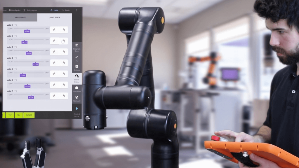 7 Axis Cobot Provides Dexterity to See Around Corners