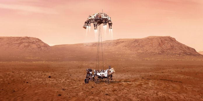 Tuesday's marvels of engineering: Successful Mars rover landing