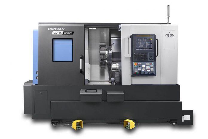Doosan Lynx 2600SY Turning Machine Uses New FANUC Controller