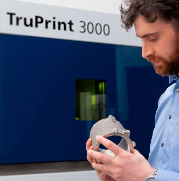 Trumpf introduces new series of its Tru Print 3000 3D printing system