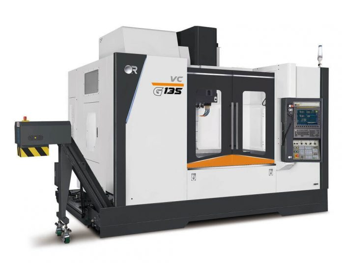 Heavy duty vertical machining centre