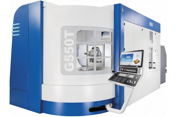 Five-Axis Grob G550T Tightens Cycle Times and Accuracies