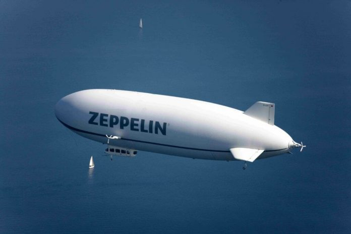 Tuesday's marvels of engineering: New KEB servo drives Zeppelin take-off