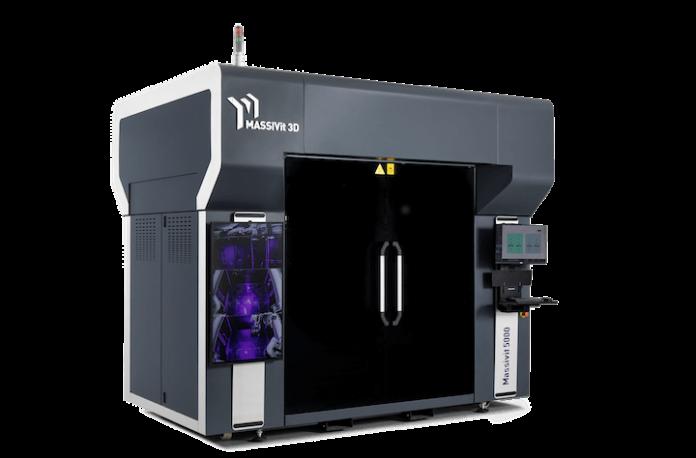 Massivit - large-format industrial 3D printer