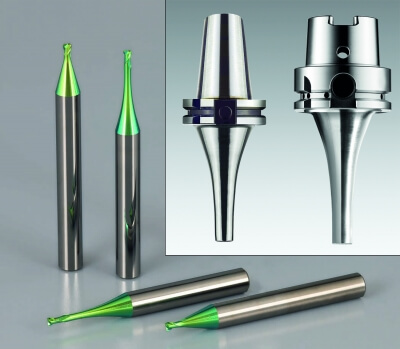 Micro End Mills and Micro Milling/Drilling Chucks