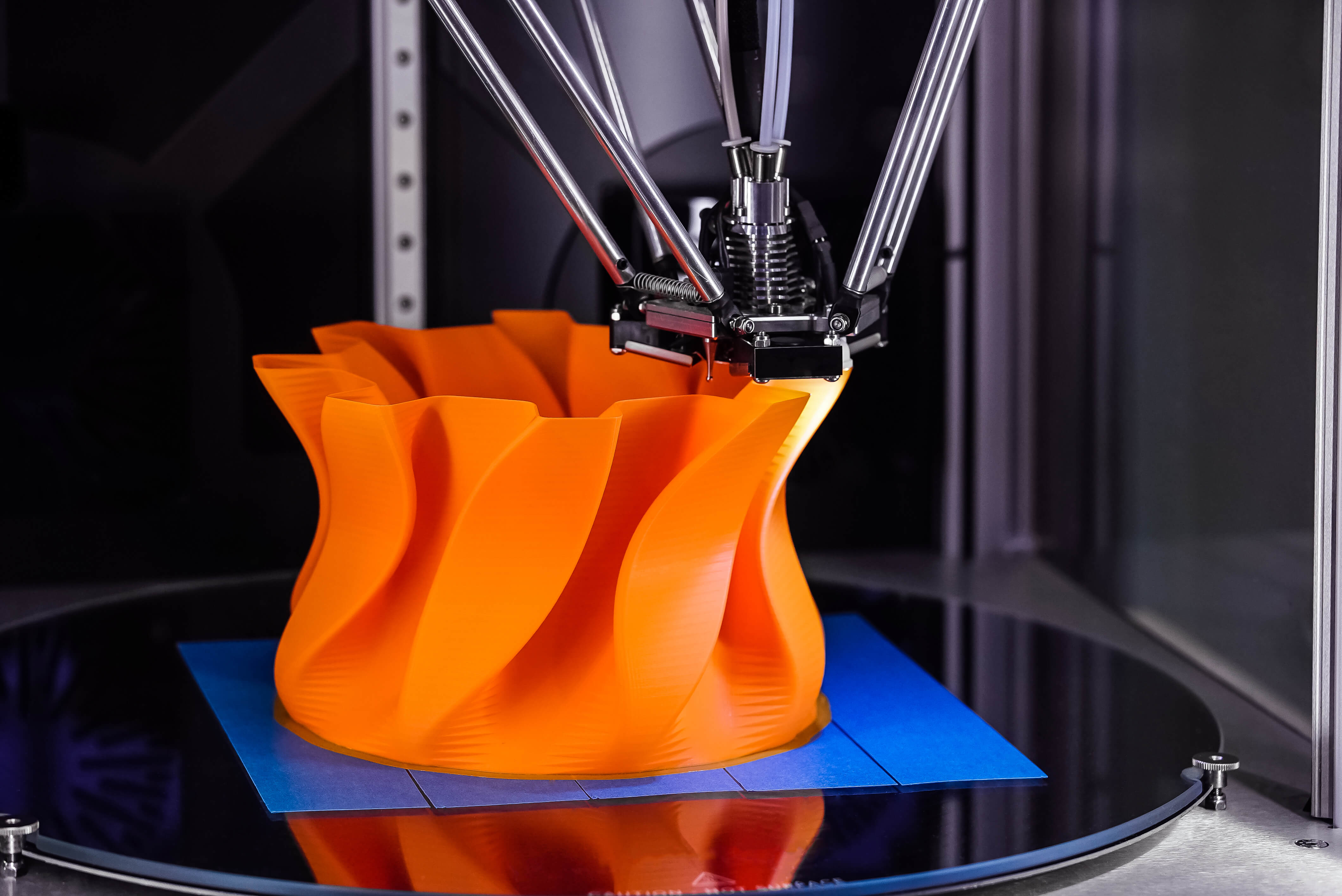 As a one-step production process, 3D printing saves time and thus the costs associated with using different production machines.