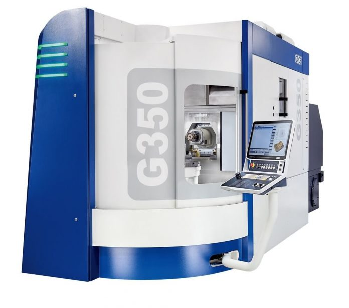 GROB Systems' Second Gen G350 5-Axis Universal Machining Center