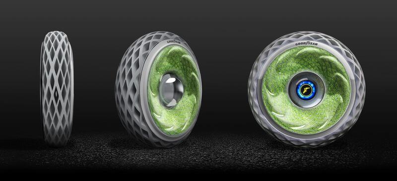 oxygen concept tire