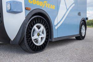 Testing First Airless 3D Printed Tire